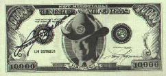 J.R.'s $10,000 Bill